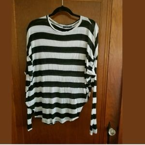 Brandy Melville Striped Long Sleeve Top One Size